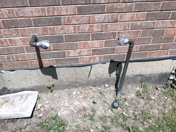 Municipal Backflow UnInstalled-Irrigation-RPZ-Outside-3